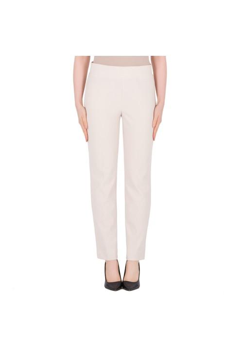 Joseph Ribkoff Cream Split Hem Trousers