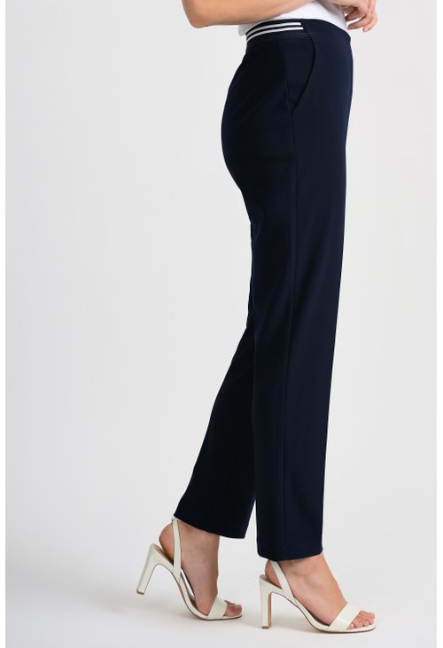 Joseph Ribkoff Black Dress Trousers