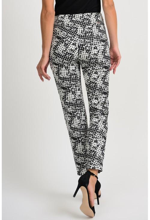 Joseph Ribkoff Graphic Print Trousers