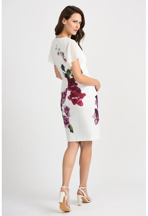 Joseph Ribkoff Orchid Print Dress