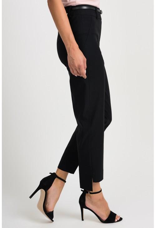 Joseph Ribkoff Black Cropped Trousers