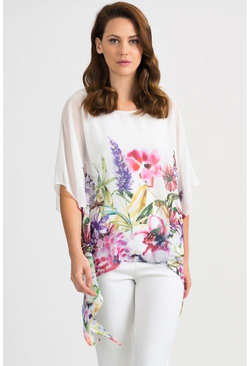 Joseph Ribkoff Floral Print Top