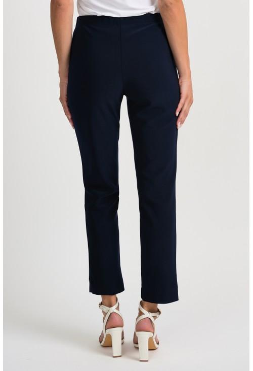 Joseph Ribkoff Navy Cropped Trousers