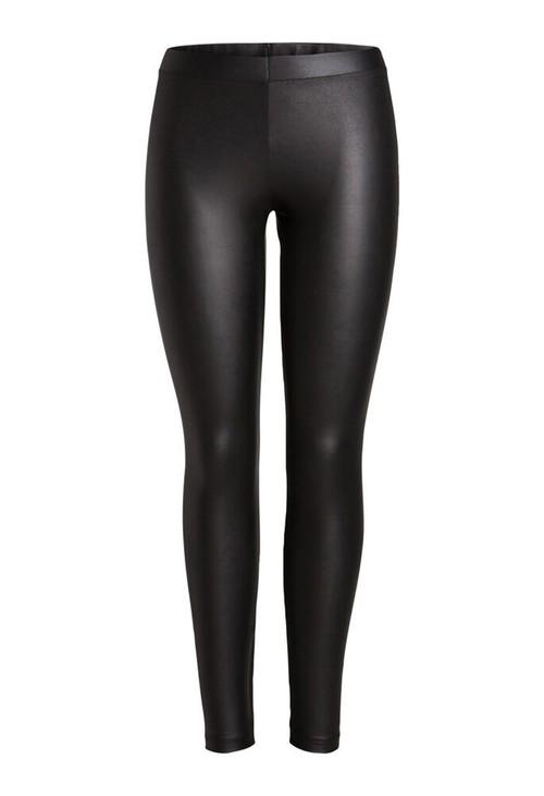 Pamela Scott Faux Leather Leggings