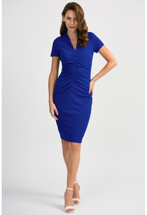 Joseph Ribkoff Ruched Detail Dress