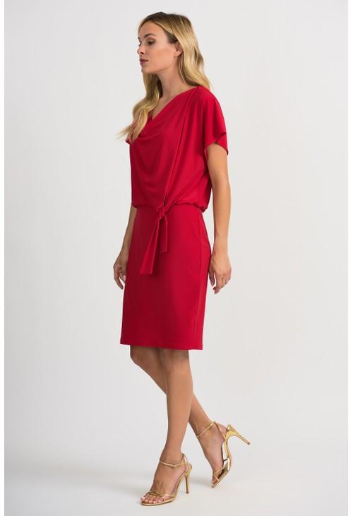 Joseph Ribkoff Drape Dress