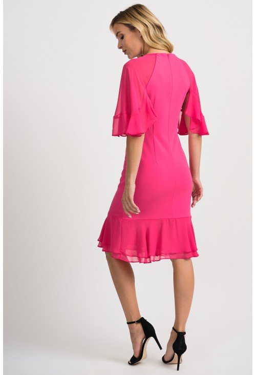 Joseph Ribkoff Petal Detail Dress