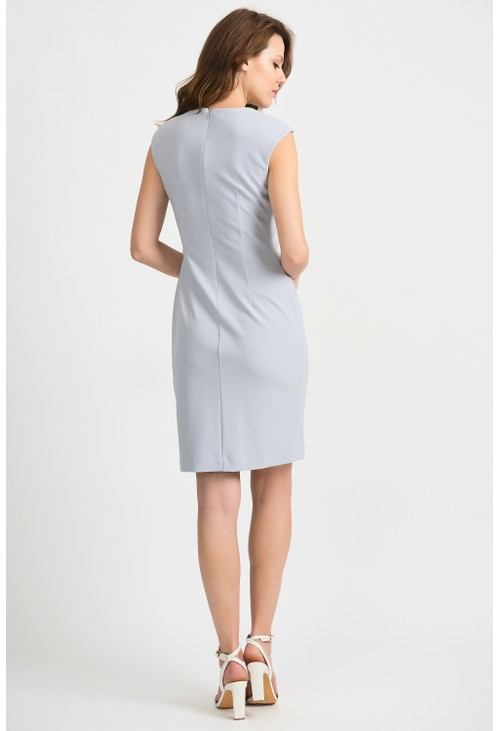Joseph Ribkoff Pearl Drop Detail Dress