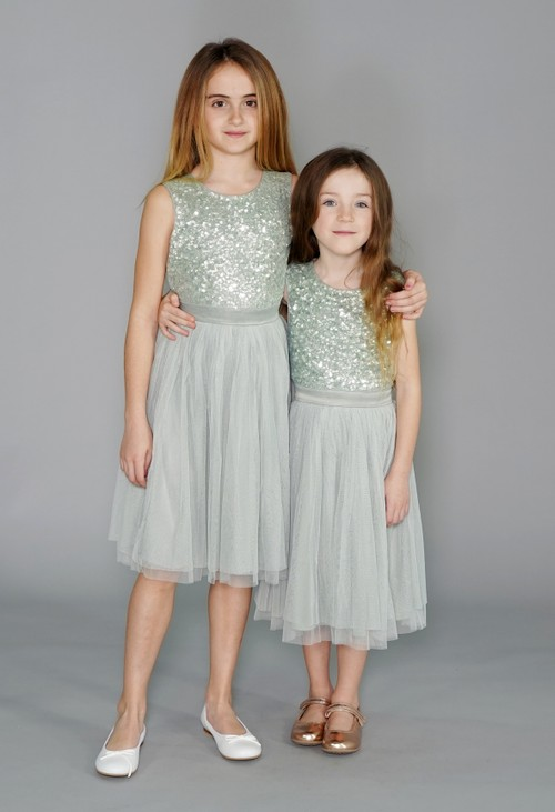 Maya Sage Green Mini Maya Dress