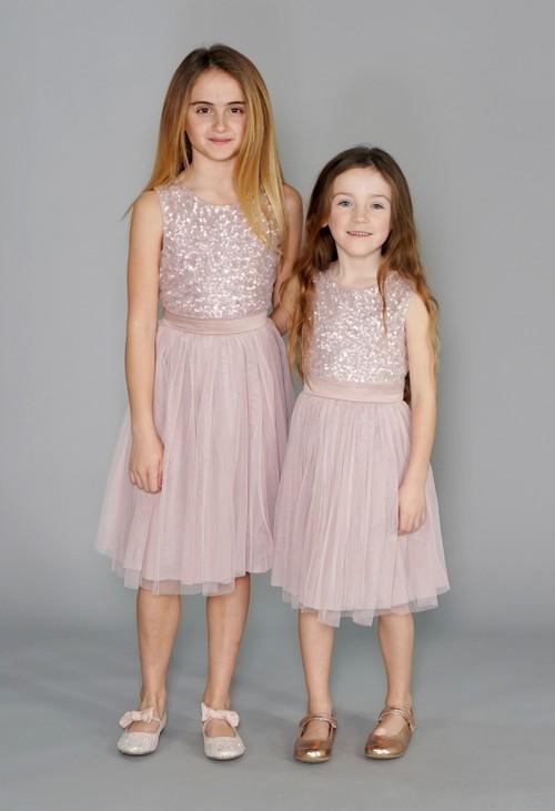 Maya Frosted Pink Mini Maya Dress