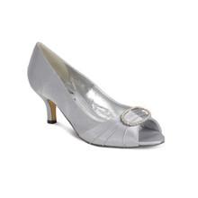 Lunar Grey Ruffle Shoes