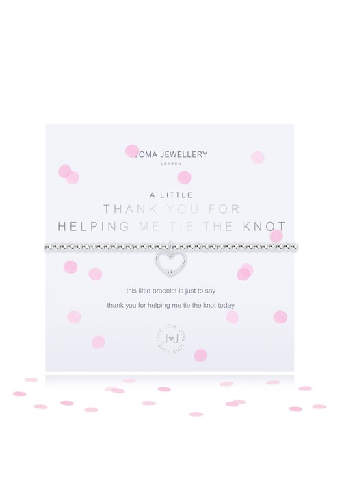 Joma A LITTLE THANK YOU BRACELET (BRIDESMAID)