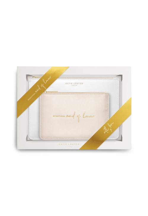 Katie Loxton PERFECT POUCH GIFT SET BEAUTIFUL MAID OF HONOUR