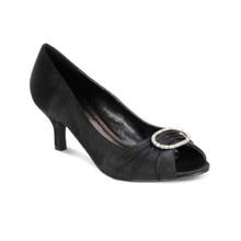 Lunar Black Sequin Shoes