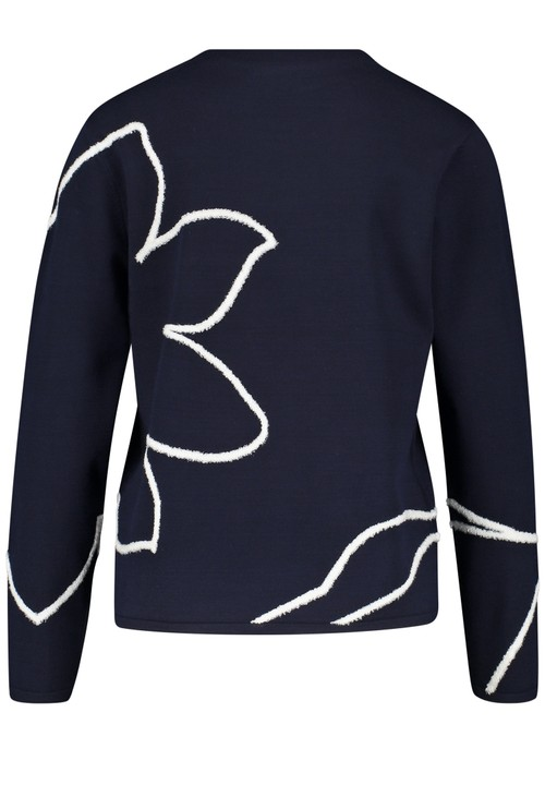 Gerry Weber Jumper with an abstract pattern