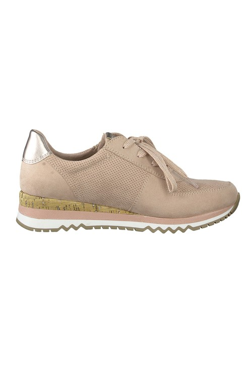 Marco Tozzi Rose Laced Trainer