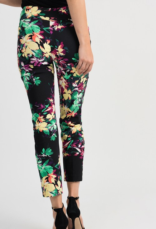 Joseph Ribkoff Floral Print Pants
