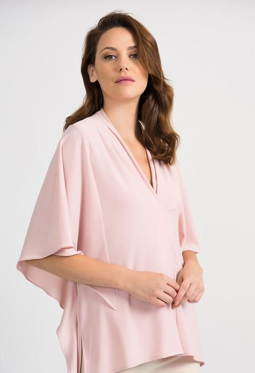 Joseph Ribkoff Pink Casual Blouse