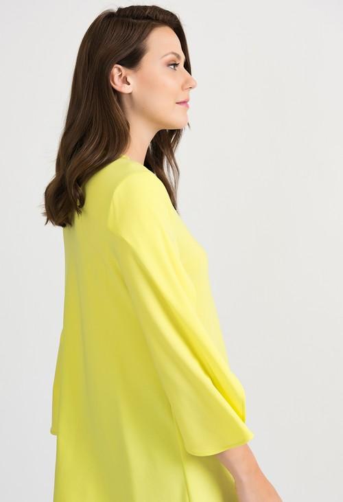 Joseph Ribkoff V-neck Zest Yellow Tunic