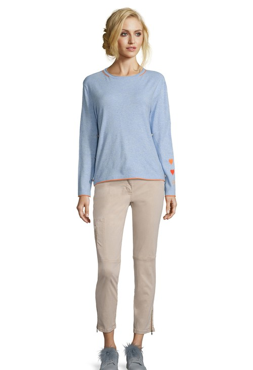 Betty Barclay Light Blue Melange Knit