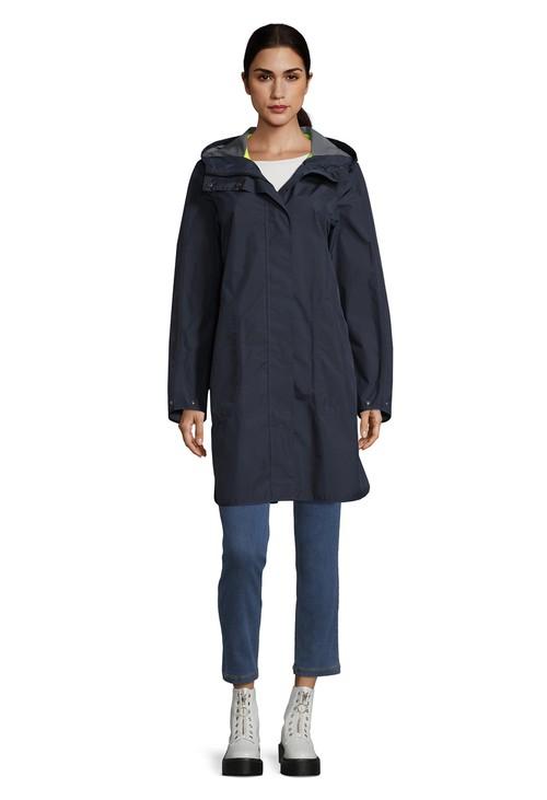 Betty Barclay Dark Blue Rain Jacket