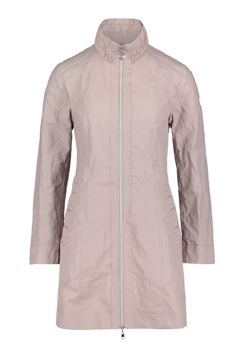 Betty Barclay Silver Zip Rain Jacket