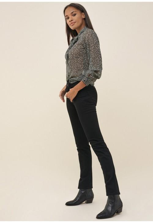 Salsa Jeans PUSH IN SECRET SLIM TRUE BLACK JEANS