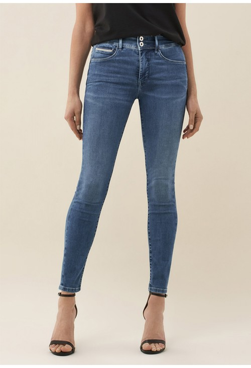 Salsa Jeans PUSH IN SECRET SKINNY JEANS WITH SHINY DETAILS