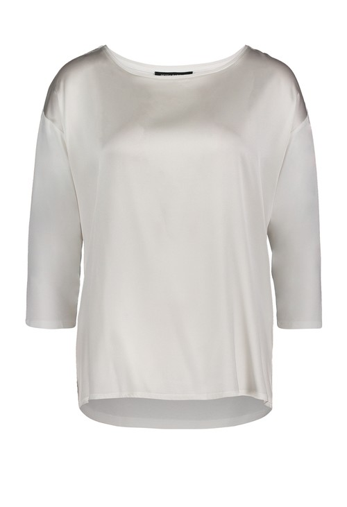 Betty Barclay Off White Round Neck Top