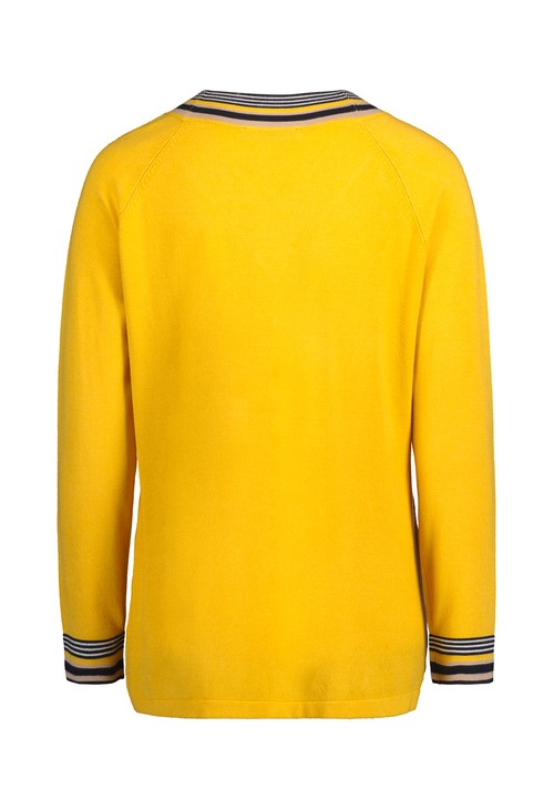 Betty Barclay Super Lemon V-Neck Sweater
