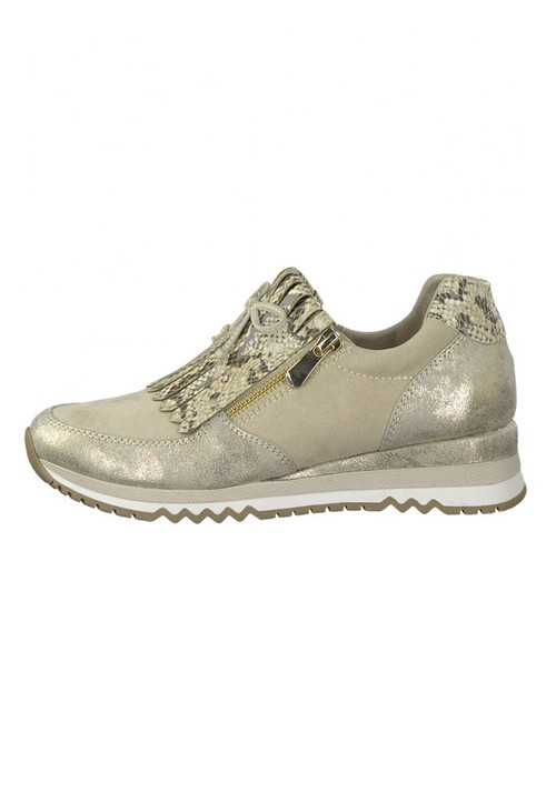 Marco Tozzi Nude Coloured Trainer