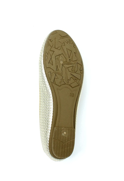 Shoe Lounge Gold Woven Effect Pump