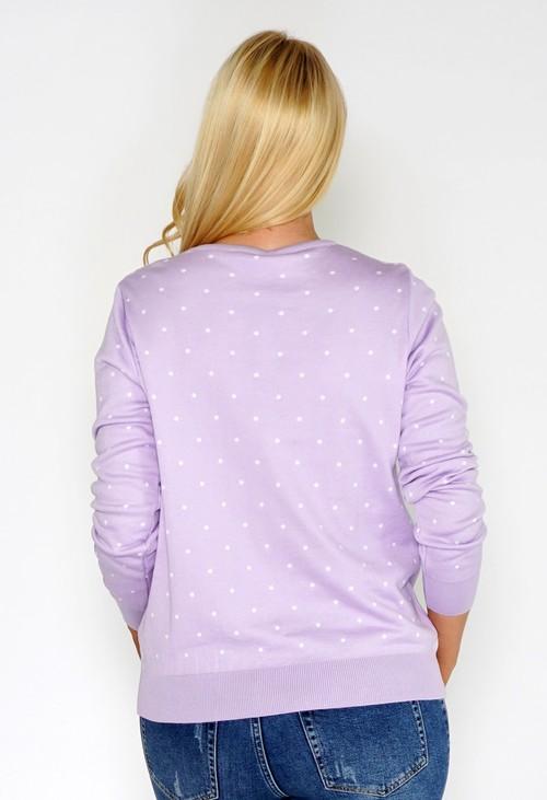 Twist Lilac Confetti Pullover