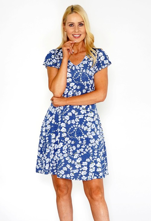Sophie B Floral Tea Dress