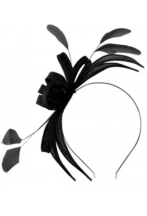 Failsworth Feather Detail Sinnamay Hairband