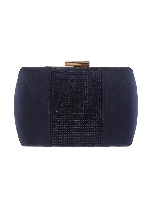Barino Navy Clutch Bag