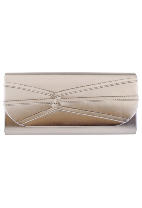 Barino Silver Clutch Bag