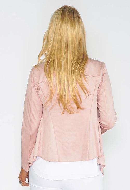 Sophie B Rose Waterfall Suede Jacket