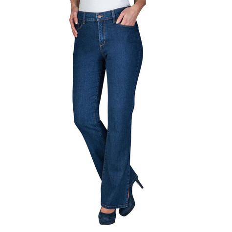 NYDJ Plain Demin Bootcut Jeans