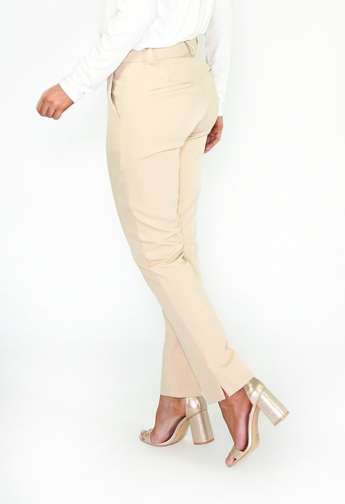 Pamela Scott Beige Trousers