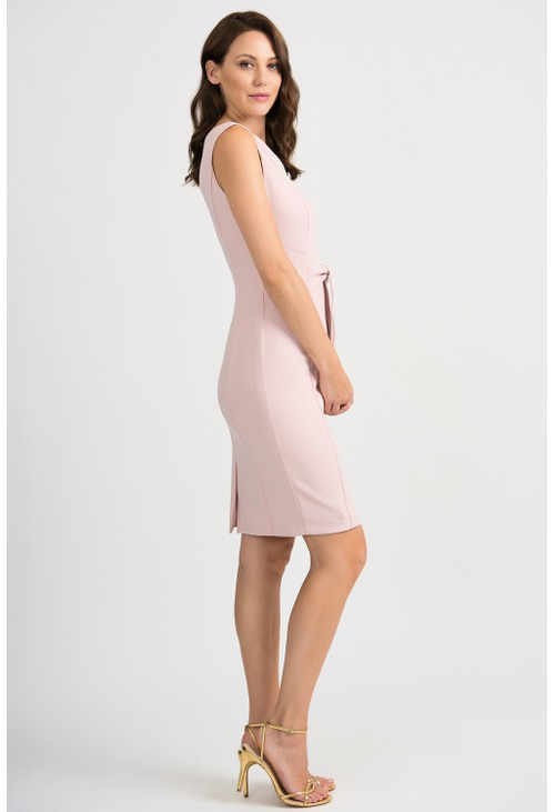 Joseph Ribkoff Tailored Dress with Tie Waist