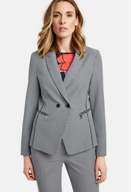 Gerry Weber Gingham check blazer