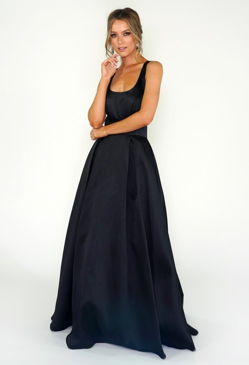 My Michelle Black Ballgown
