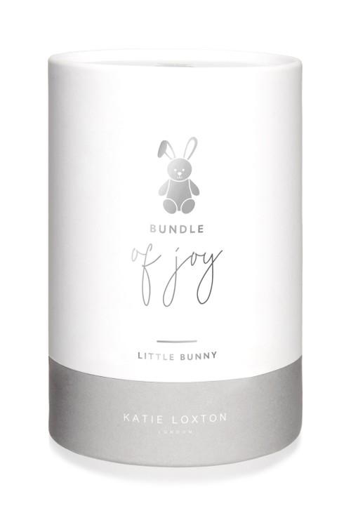 Katie Loxton BUNNY BABY TOY   BUNDLE OF JOY   GREY