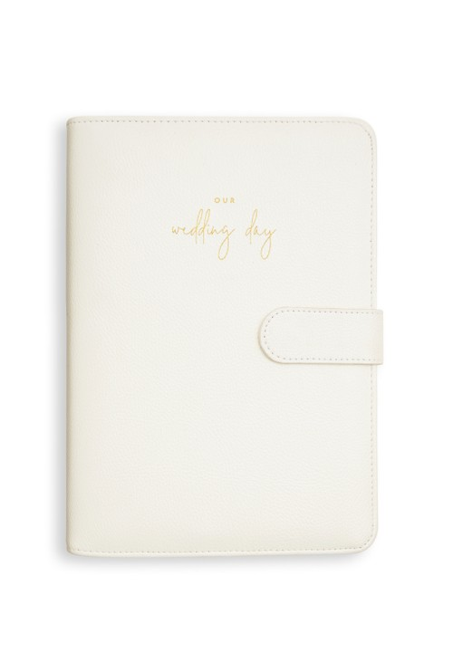 Katie Loxton OUR WEDDING DAY PLANNER | PEARLESCENT WHITE