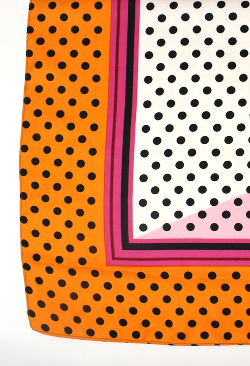 PS Accessories Polka Dot Scarf