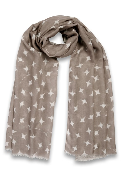 Katie Loxton WRAPPED UP IN LOVE BOXED SCARF | WONDERFUL MUM | OATMEAL
