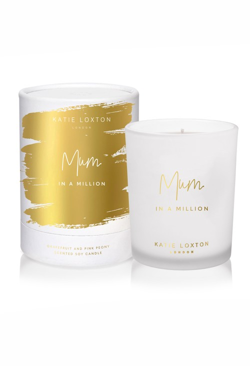 Katie Loxton MUM IN A MILLION CANDLE | GRAPEFRUIT AND PINK PEONY