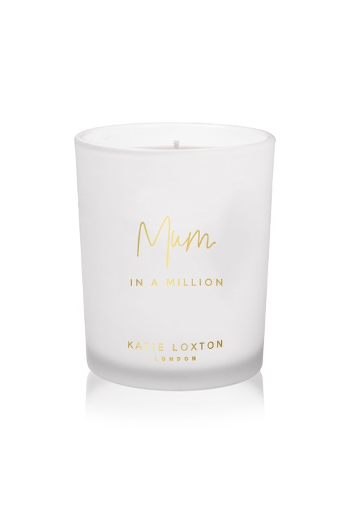 Katie Loxton MUM IN A MILLION CANDLE   GRAPEFRUIT AND PINK PEONY