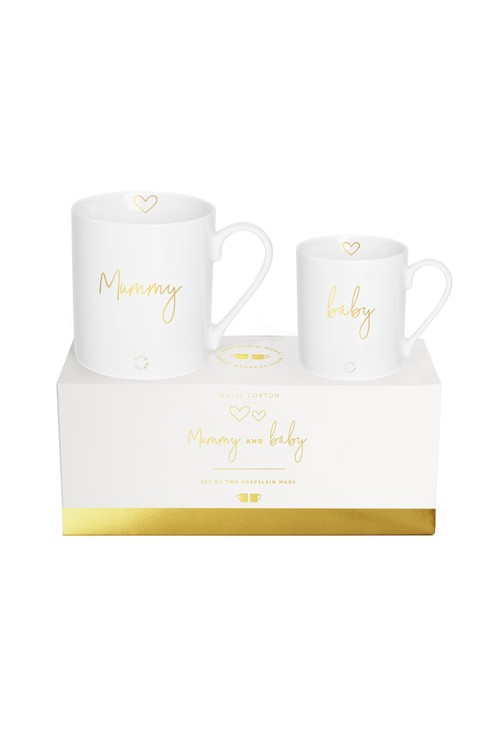 Katie Loxton PORCELAIN MUG GIFT SET | MUMMY AND BABY